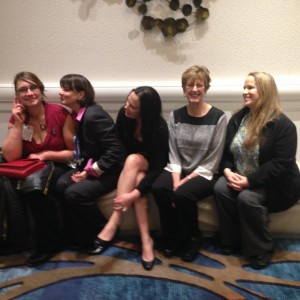 Natalie Yanish, Deb Howard, Brooke Hernandez, Ellen Camacho, and Sharon Kerrigan
