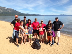 Tallac Beach Clean Up 2
